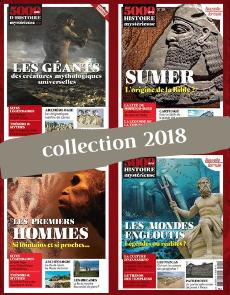 Collection 2018 - 5000 ans d'Histoire Mystérieuse - 4 numéros Collector