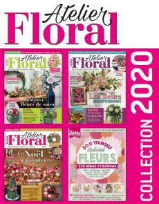 Collection 2020 - ATELIER FLORAL 3 numéros collectors + spécial FLEURS DIY