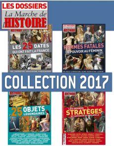 Collection 2017 complète - Les Dossiers de La Marche de l'Histoire : 4 numéros collectors