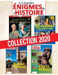 ÉNIGMES DE L'HISTOIRE - Collection 2020