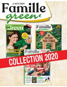 Collection de 3 magazines - Famille Green, le geste positif