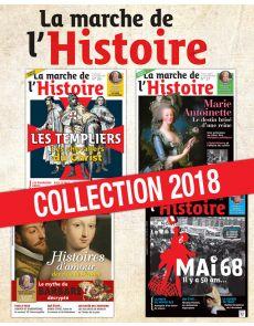 Collection 2018 - La Marche de l'Histoire - 4 numéros Collector