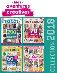 Mes Aventures Créatives - Collection de 4 magazines