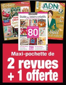 MON HIVER DIY : 2 magazines de loisirs créatifs + 1 revue OFFERTE !