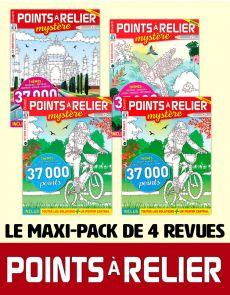 Le PACK POINTS À RELIER grand format 2020 - 4 revues