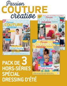 COUTURE créative - Pack de 3 hors-séries Dressing d'été