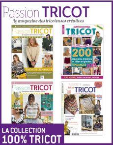 La collection 100% TRICOT - 4 magazines pour créer