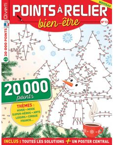 Points à Relier Bien-être 13 - Thèmes mode, super-héros, cirque, régions de France