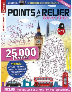 POINTS À RELIER Bien-être 3 - Thèmes voyage, animaux, sports d'hiver, carnaval, Nouvel An chinois, musique...