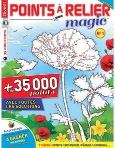 Points à relier Magic 1 - Thèmes sports, botanique, pâques, carnaval ...