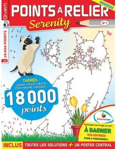 Points à Relier Serenity 1 - Thèmes Jardin, Chats, Musique, Fêtes…