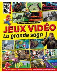 Le guide des jeux vidéos - La grande saga - Collection Pop Up 02