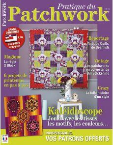 Pratique du Patchwork n°9 - Six projets de printemps en pas à pas