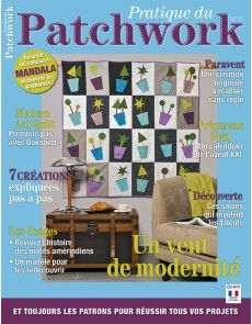 Pratique du Patchwork n°11 - 7 créations illustrées et expliquées pas à pas