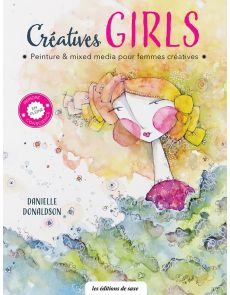 Creative Girls - Peinture et mixed media pour femmes créatives
