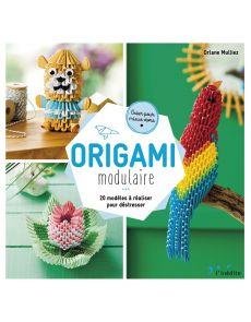 Origami modulaire - 20 modèles à réaliser pour déstresser