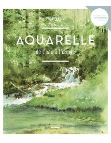 Aquarelle de l'eau à l'oeuvre - Philippe Lhez