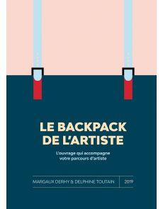 Le backpack de l'artiste - l'ouvrage qui accompagne votre parcours d'artiste
