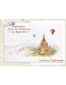Aquarelles d'ici et d'ailleurs au Myanmar - Corinne Poplimont