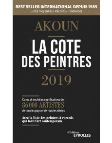 La cote des peintres 2019 - Jacques-Armand Akoun