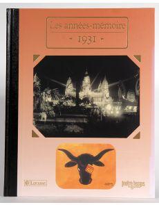1931 - Les années mémoire