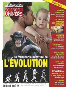 Les Collections de Sciences & Univers 01 - La formidable aventure de l'évolution