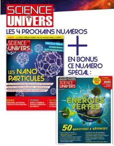 Abonnement 1 AN Science et Univers + EN BONUS 1 numéro spécial
