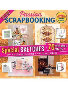 Scrapbooking spécial SKETCHES format carré - Hors-série 21