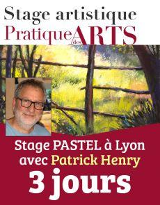 Réservation des 3 jours de Stage PASTEL avec Patrick Henry