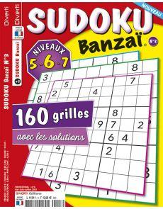 SUDOKU Banzaï 3 - Niveaux 5-6-7