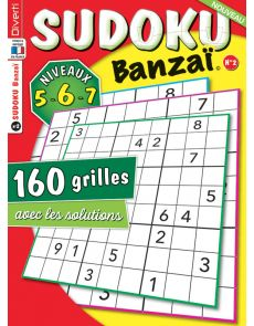 SUDOKU Banzaï 2 - Niveaux 5-6-7