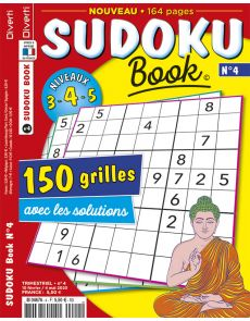 Sudoku Book 4 - 150 grilles avec les solutions. Niveaux 3-4-5
