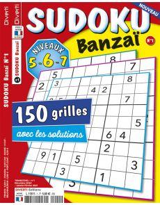 Sudoku Banzai 01 - Niveaux 5-6-7