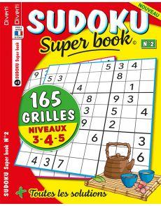 SUDOKU Super book 02 - Niveaux 3-4-5