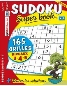 SUDOKU Super book 5 - Niveaux 3-4-5