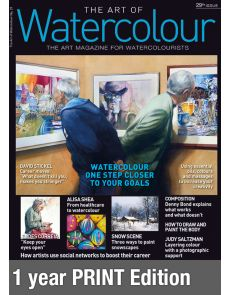 Print Edition 1-year Subscription - The Art of Watercolour magazine