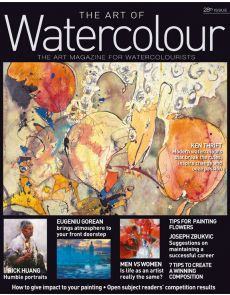Print Edition 1 year Subscription - The Art of Watercolour magazine