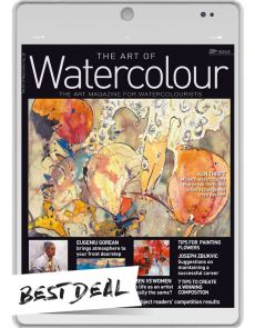 2 year Subscription - DIGITAL Edition - The Art of Watercolour magazine