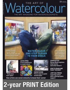 Print Edition 2-year renewal Subscription - The Art of Watercolour magazine