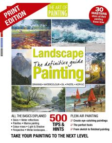 Landscape Painting: the definitive Guide - Drawing, Watercolour, Oil, Pastel, Acrylic