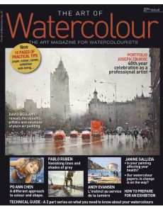 The Art of Watercolour 27th issue - Featuring Joseph Zbukvic, David Bellamy, Pablo Ruben, Andy Evansen…