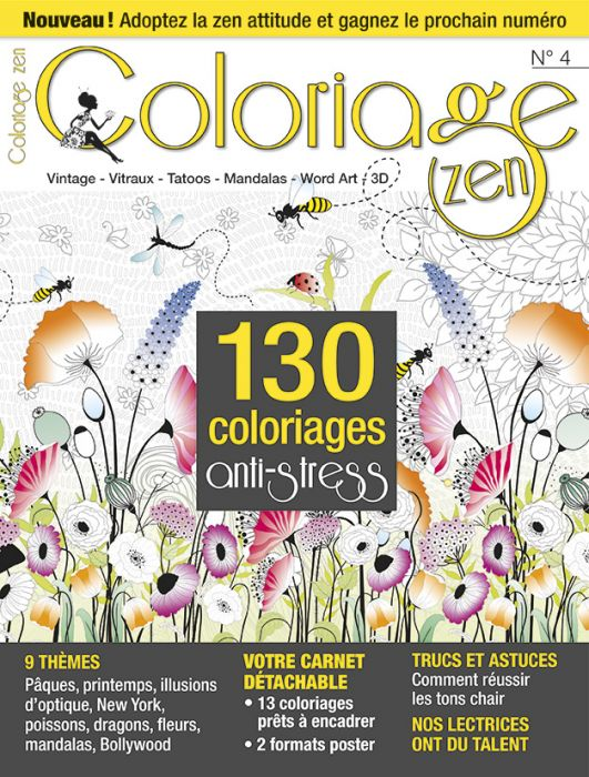 Comment Faire Un Coloriage Anti Stress.Coloriage Zen N 4 130 Coloriages Anti Stress
