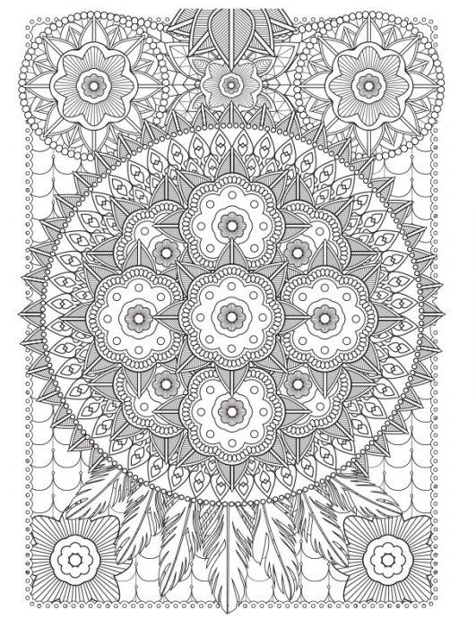 Coloriage Anti Stress Automne.Coloriage Ambiance Zen 4 Themes Automne Fleurs Mandalas Colorama