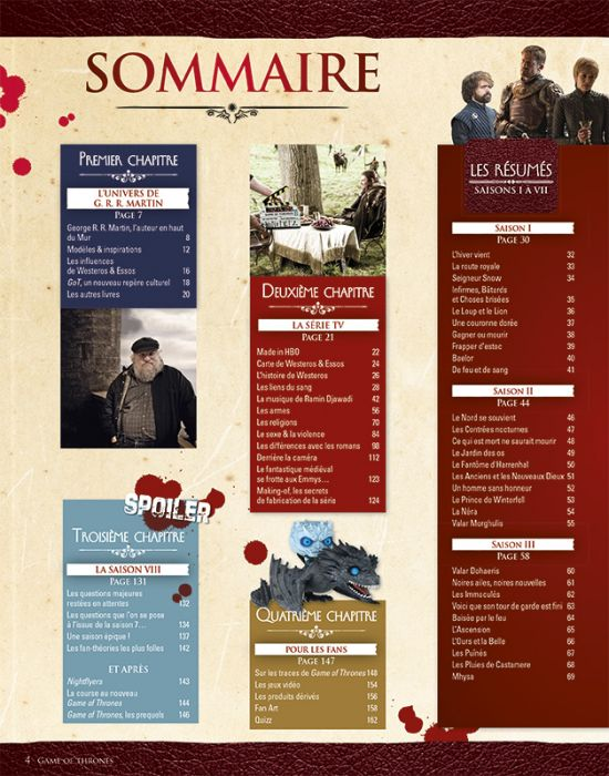 Game Of Thrones Collection Tout Savoir 02