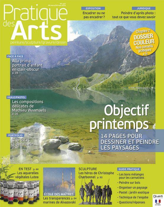 Magazine Pratique Des Arts N 127 Peindre Le Printemps