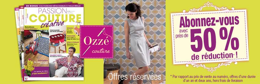 Offres d'abonnement Passion Couture