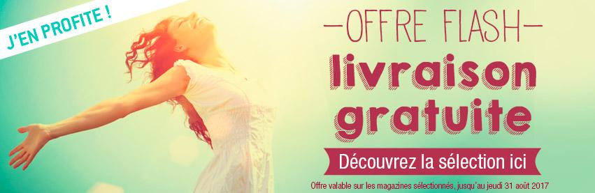 livraison gratuite sur vos magazines